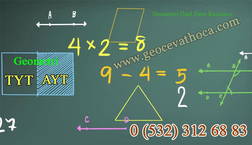 Geometri Özel Ders Konuları