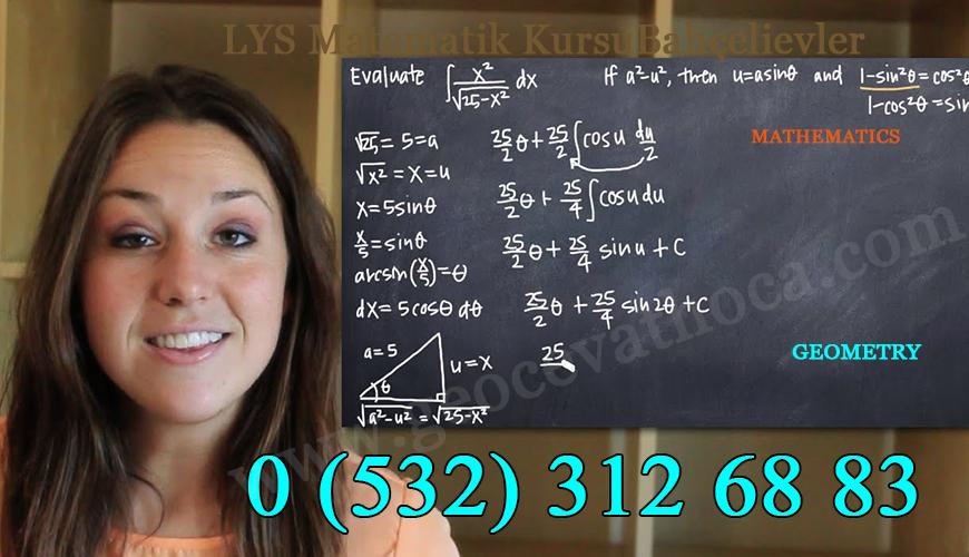 LYS Matematik Kursu Bahçelievler