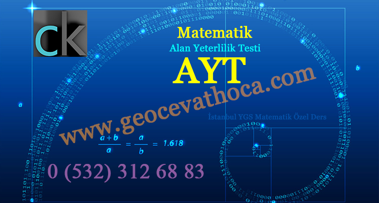 İstanbul YGS Matematik Özel Ders