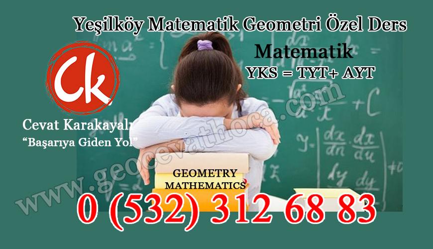 Yeşilköy Matematik Geometri Özel Ders