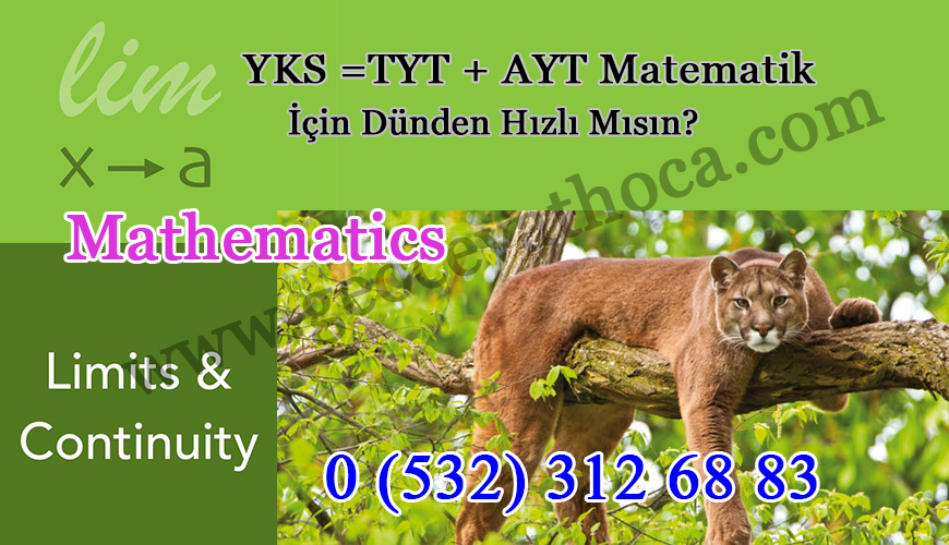 YKS = TYT + AYT Matematik İçin Dünden Hızlı Mısın?
