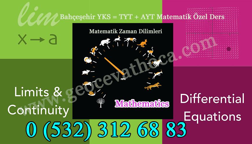 Bahçeşehir YKS = TYT + AYT Matematik Özel Ders