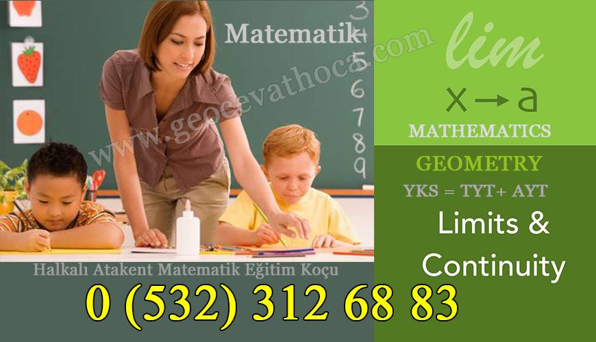 Halkalı Atakent Matematik Eğitim Koçu