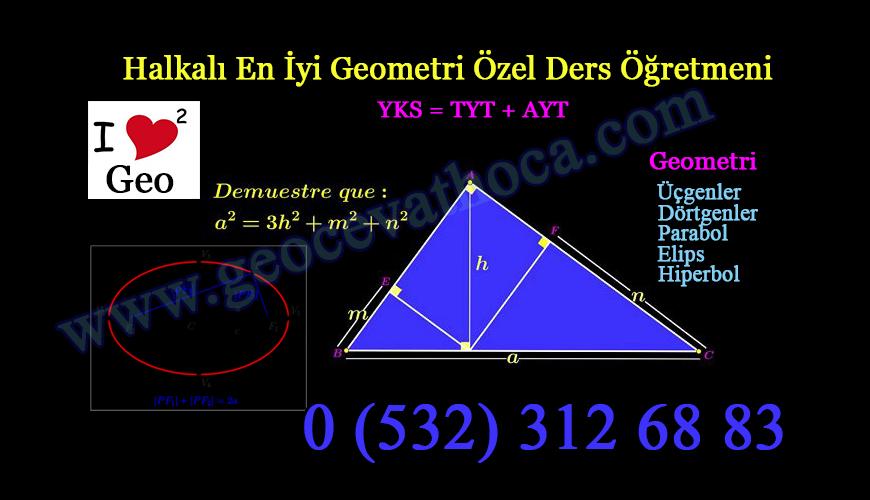 Halkalı En İyi Geometri Özel Ders Öğretmeni
