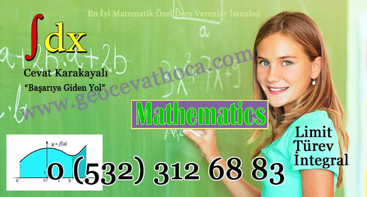 En İyi Matematik Özel Ders Verenler İstanbul