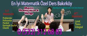 En İyi Matematik Özel Ders Bakırköy