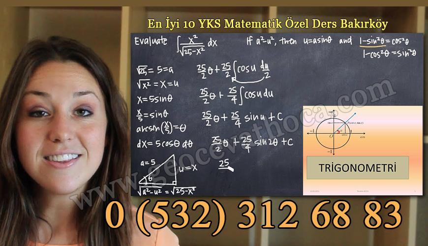 En İyi 10 YKS Matematik Özel Ders Bakırköy