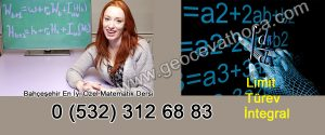 Bahçeşehir En İyi Özel Matematik Dersi