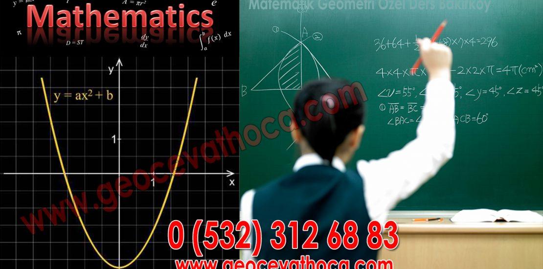 Matematik Geometri Özel Ders Bakırköy