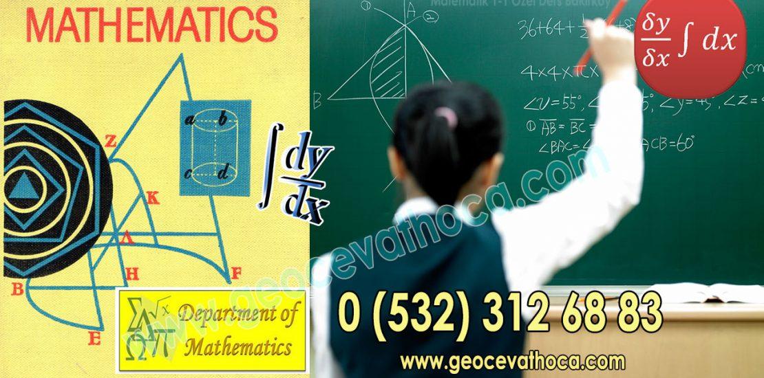 Matematik 1-1 Özel Ders Bakırköy