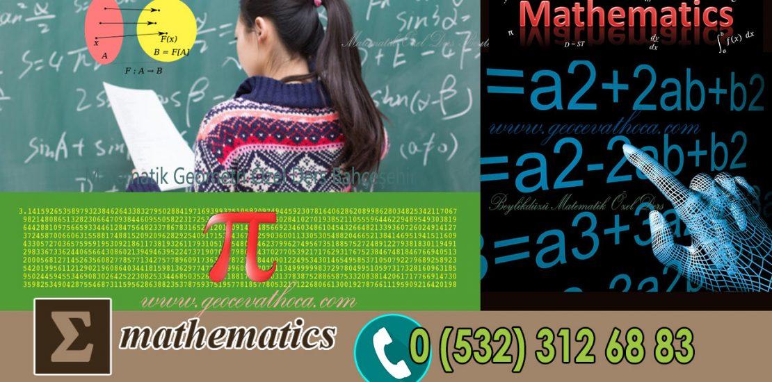 Matematik Geometri Özel Ders Bahçeşehir