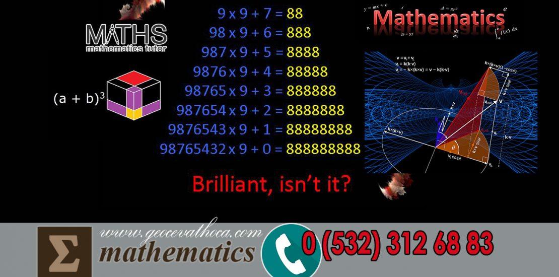 Matematik Yüz Yüze Birebir Ders Beylikdüzü