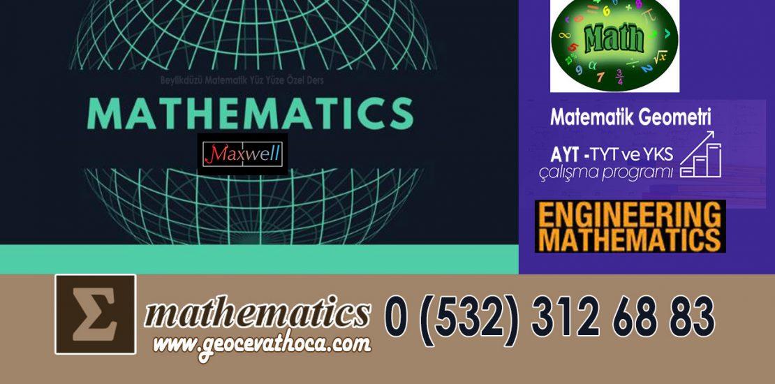 Beylikdüzü Matematik Yüz Yüze Özel Ders